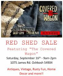 the red shed featuring