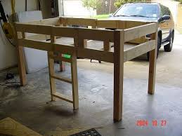 Plans For Wooden Loft Bed by Nissan Nut