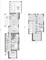 3 floor plan narrow lot homes perth pindan homes