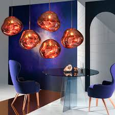 tom dixon melt pendant copper design oostende by jansseune