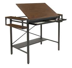 Cheap Drafting Table Contemporary Glass Top Drafting Table By Artist S Loft 40 5 X 23 5