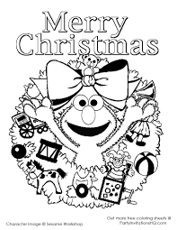 elmo christmas coloring pages elmo christmas printable coloring