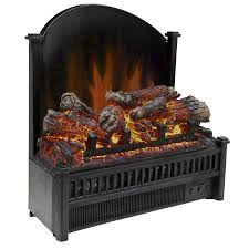 shop electric fireplace logs at lowes com