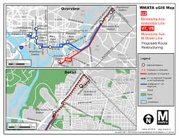 Wmata Map Metro by Planitmetro Proposed Bus Service Improvements In Southwest Dc