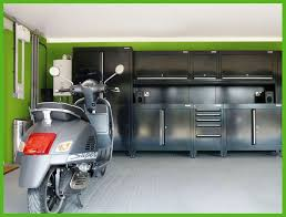 green wall painted interior color decor for car and motor cycle