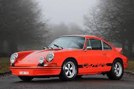 porsche 911 rs porsche rs 2 7 13 000 collector car pics