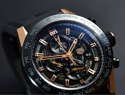 carrera watches in depth review carrera heuer 01 rose gold u0026 titanium car2a5a