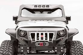 badass blue jeep 2007 2016 jeep wrangler fab fours vicowl front visor cowl