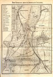 Amherst College Map Description Of A Large Bowlder U201d The Consecrated Eminence