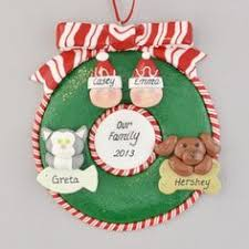snowman family ornament salt dough ornaments