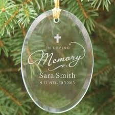 engraved baby in heaven oval glass ornament ornaments