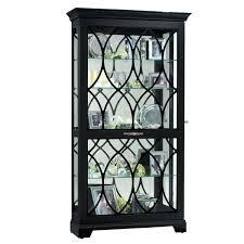 curio cabinet striking corner curio cabinet black pictures