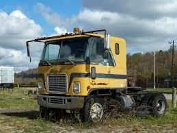 gmc semi truck rusty 1972 gmc astro 95 cab over engine semi near miamito u2026 flickr