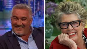 paul hollywood goes bright red as jonathan ross jokes about his