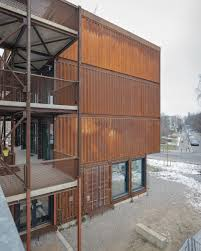 A Container Village For Students In Berlin Uncube