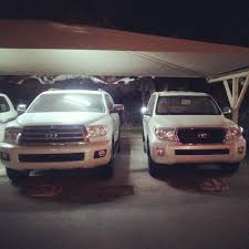 lexus land cruiser pics sequoia vs land cruiser size comparison clublexus lexus forum