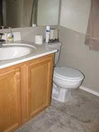Builders Grade Bathroom by Thrift Store Decor Junky Elrie U0027s Bathroom Makeover