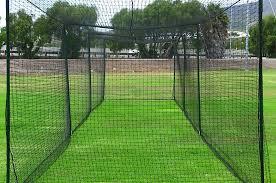 Batting Cage For Backyard by Amazon Com Fortress 35 U0027 Ultimate Baseball Batting Cage Net