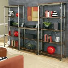 home styles the orleans multi function 5 shelf unit gray hayneedle