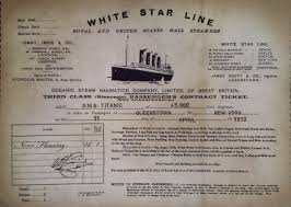 Titanic Second Class Menu by All The History None Of The Icebergs My Visit To Cobh And Its