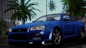 nissan skyline police car nissan skyline gt r v spec ii 2002 for gta san andreas
