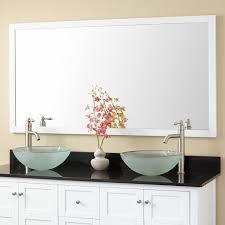 Wood Framed Bathroom Vanity Mirrors Wood Framed Vanity Mirror Signature Hardware