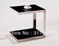 Small Tables For Living Room Small Table Beside Sofa Glass Tea Tables With Wheel Stool