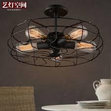 Edison Ceiling Light Aliexpress Com Buy Loft Style Coffee Shop Retro Edison Fan