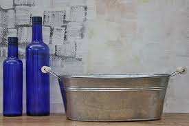 galvanized tubs galvanized steel tub bucket outlet