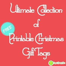 ultimate collection of free printable christmas gift tags frugal