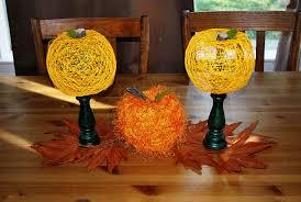 thanksgiving pumpkin crafts string pumpkins tutorial u2014 clumsy crafter
