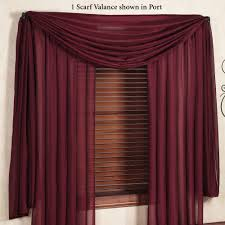 reverie snow voile semi sheer window treatment