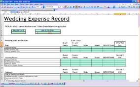 Family Budget Spreadsheet 8 Wedding Budget Spreadsheet Excel Procedure Template Sample