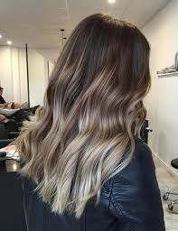 how to fade highlights in hair dark brown hairs blonde ombre hair to charge your look with radiance