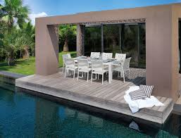 Sense Patio Extendable Table Outdoor Furniture Shop Online - Italian outdoor furniture