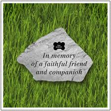 pet memorial garden stones dog grave marker pet memorial garden