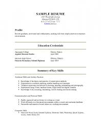 show me resume show me a resume example serversdb org examples of