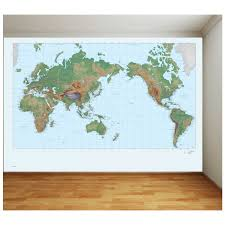 pro art world map full wall mural big w pro art world map full wall mural