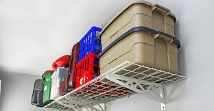 wall storage shelves overhead garage storage racks ceiling hanging garage storage