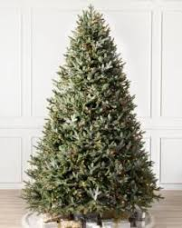 artificial christmas trees multi colored lights multicolored led pre lit christmas trees balsam hill