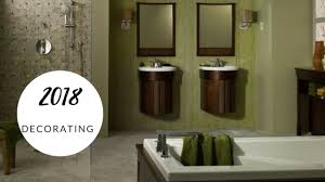 2018 top bathroom design trends youtube