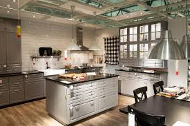 kitchen furniture stores kitchen in furniture store ikea editorial image image 38105260