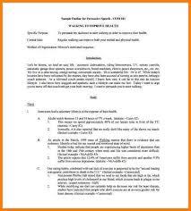 speech format background image of page 1 informative speech