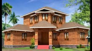 build new house cost low cost modern kerala home plan youtube house construction plans