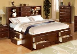 Bookcase Storage Beds Roundhill Furniture