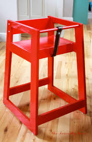 ana white restaurant high chair from scraps diy projects