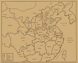 Yuan Dynasty Map Chinese Art