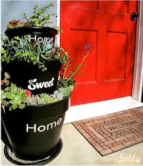 Planter S House Stacked Planters For Your Home Sweet Home Homejelly