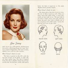 10 hollywood hairstyles of the 50s gene tierney 1950s