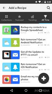 ifttt android if by ifttt for android